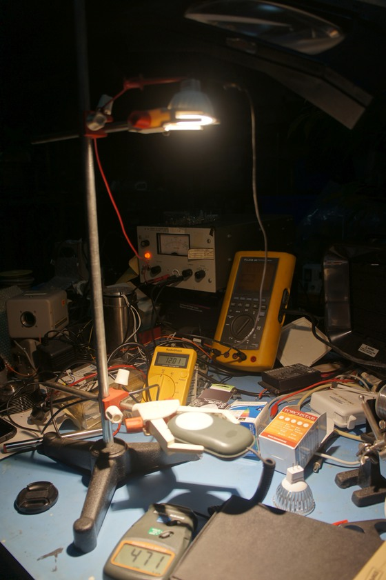 LED Test Apparatus