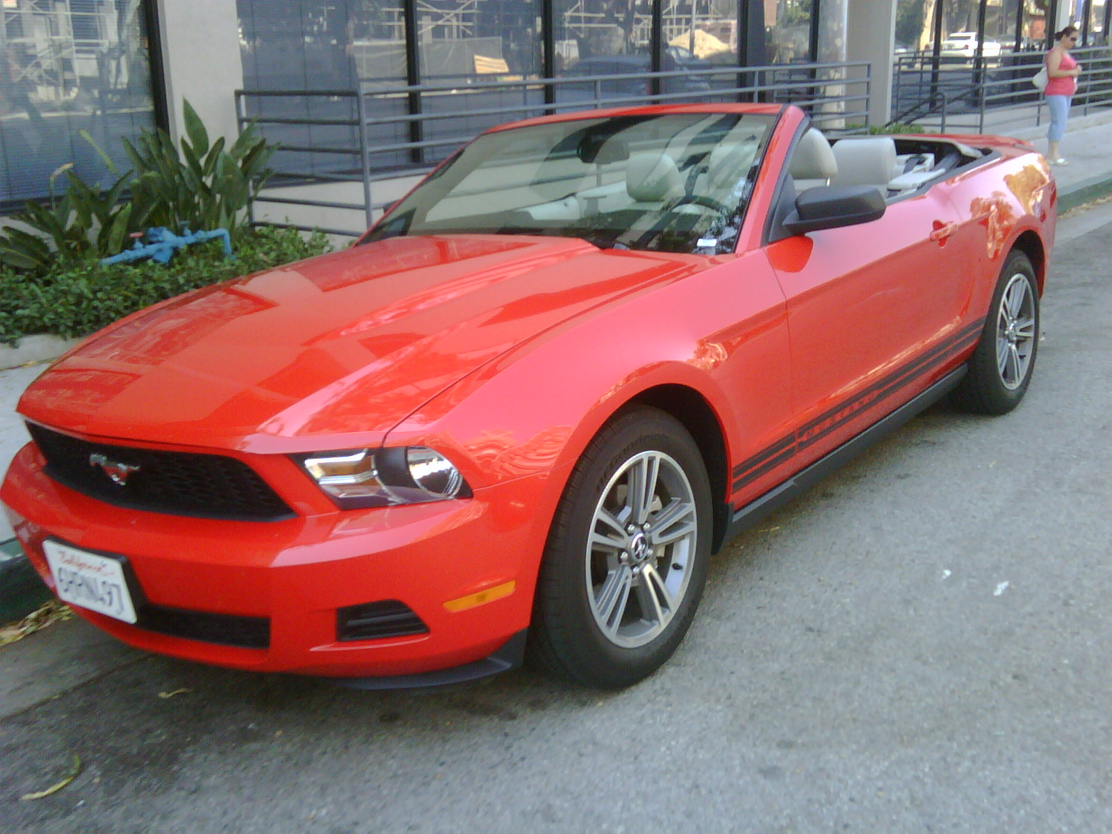 Rental Mustang Convertible Gessel On